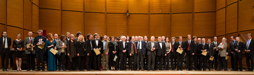 ICMA 2013 in Milan: Winners and Jury on Stage