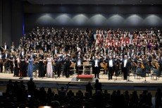 ICMA HOST PERFORMED MAHLER'S EIGHT SYMPHONY
