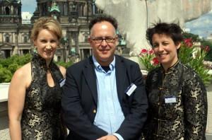 Klavierduo Bard and ICMA Jury member Martin Hoffmeister Photo: Remy Franck