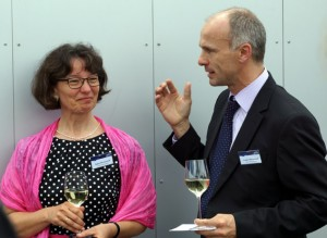 Audite owner Ludger Böckenhoff and his wife Agnes Böckenhoff Photo: Martin Hoffmeister