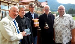 The Jury: Brandt, Schulz, Thieme, Csampai, Franck Photo: Nicole Junio