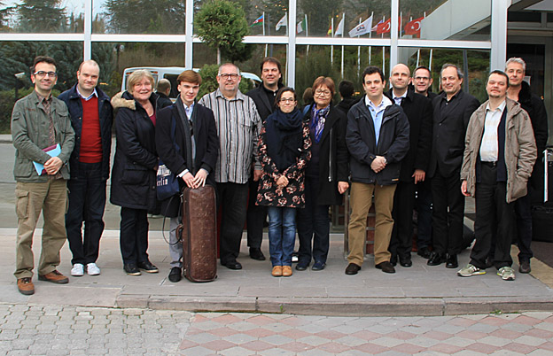 The first group of musicians and ICMA Jury members have arrived in Ankara (c) Nicole Franck