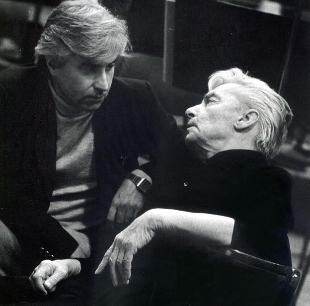Dmitrij Kitajenko and Herbert von Karajan