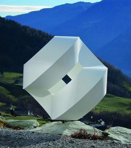 Sculpture by Werner Zemp (c) Grand Resort Bad Ragaz