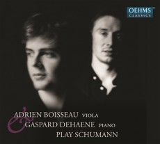 Adrien Boisseau, Young Artist Of The Year 2014, Publishes Schumann CD