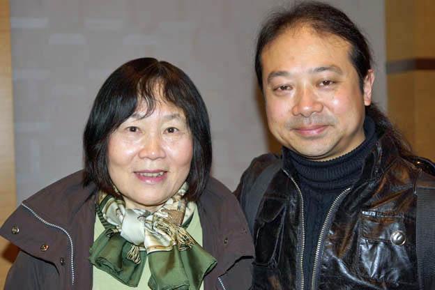 Wu Wei and Chinese pianist Zhu Xiao-Mei (c) Martin Hoffmeister / ICMA