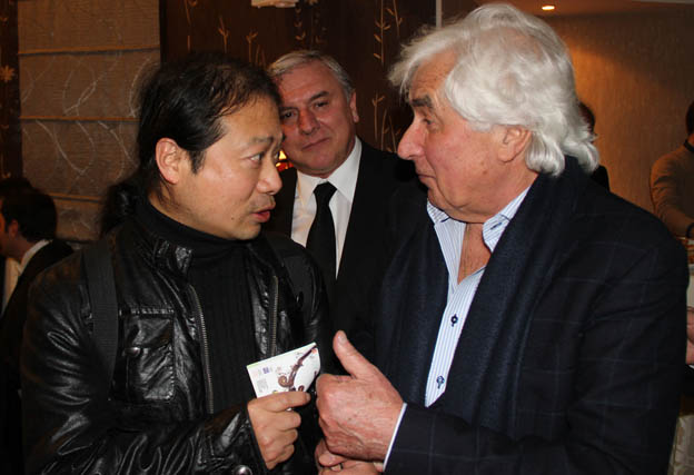 Wu Wei and Lifetime Achievement Winner Dmitry Kitajenko - (c)  Aydin Ramazanoglu