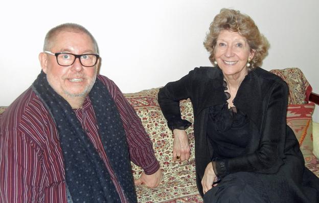 Dame Felicity et Rémy Franck, Président des ICMA, lors de l'interview à Paris (c) Nicole Junio