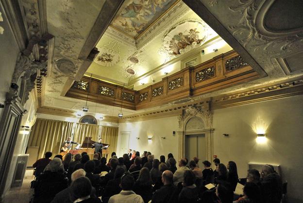 Salle de concerts du 'Palazzetto' (c) Michele Crosera