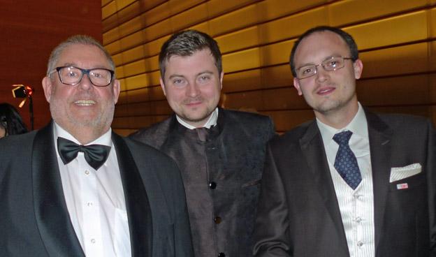 ICMA President Remy Franck, Lukasz Dlugosz and ICMA Jury member Maciej Chizynski (ResMusica)