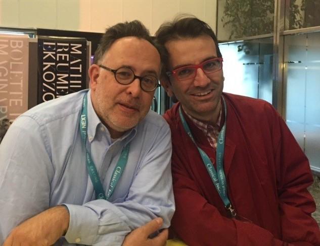 ICMA Jurymitglieder Martin Hoffmeister und Serhan Bali bei der 'classical next'