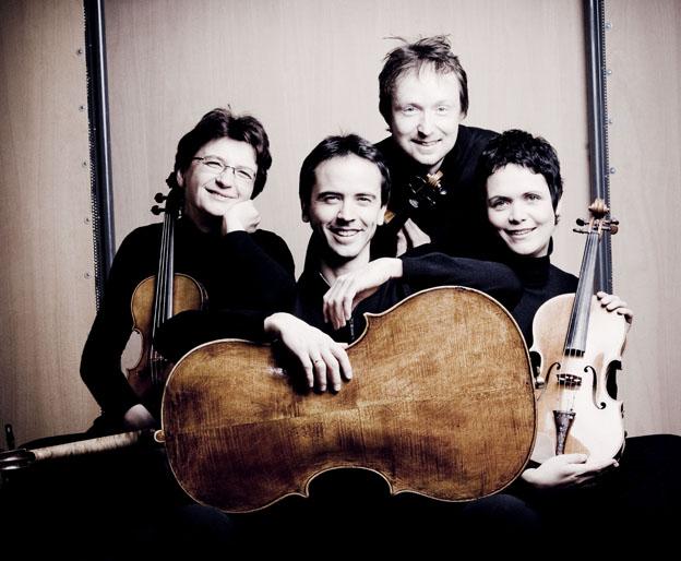 Arcanto Quartett: Ante je Weithaas, Jean-Huihen Queyras, Daniel Sepec, Tabea Zimmermann (c) Marco Borggreve