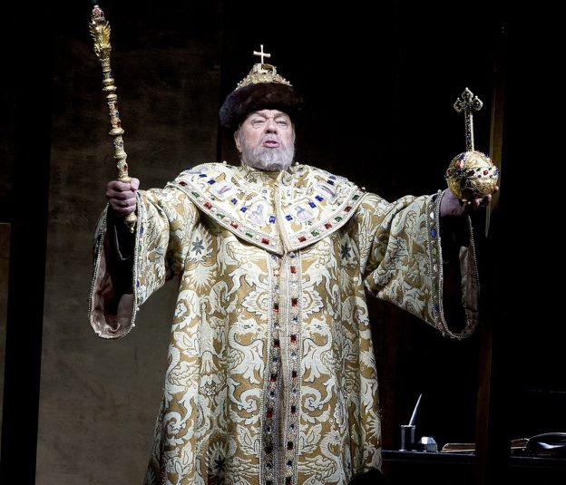 Boris Godunov at the Savonlinna Opera Festival