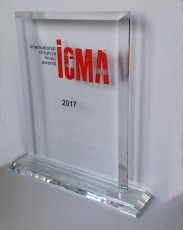 New ICMA Trophy Revealed In Paris