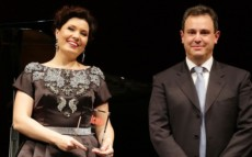 Marina Rebeka, ICMA Artist of the Year, received her trophy in Milan