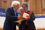 Lifetime Achievement Award -Dmitrij Kitajenko honored by Ulf Werner, Konzerthausorchester Berlin - Photo Aydin Ramazanoglu.jpg